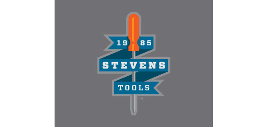 Stevens Tools Logo Design