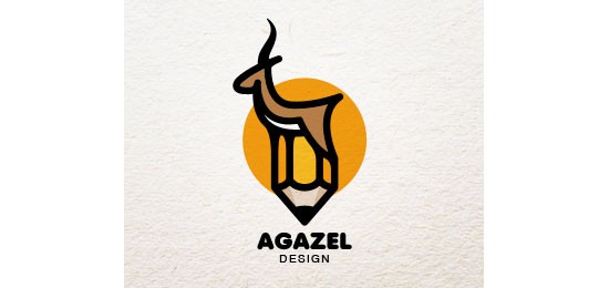 agazel Logo Design