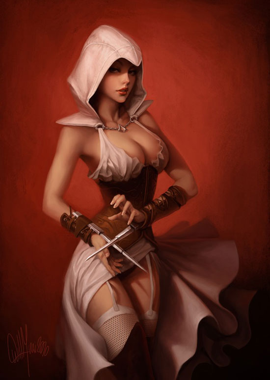 Assassin's Creed ArtBook Drawing Illustration Inspiration