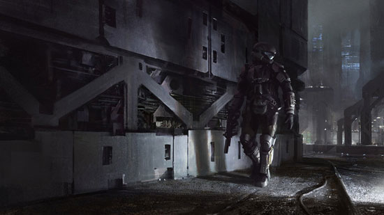 ODST Drawing Illustration Inspiration