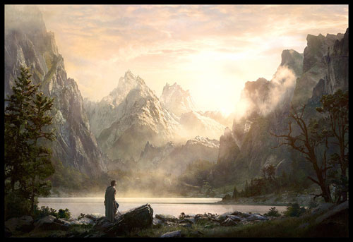 Terry Goodkind Chainfire Digital Painting Landscape
