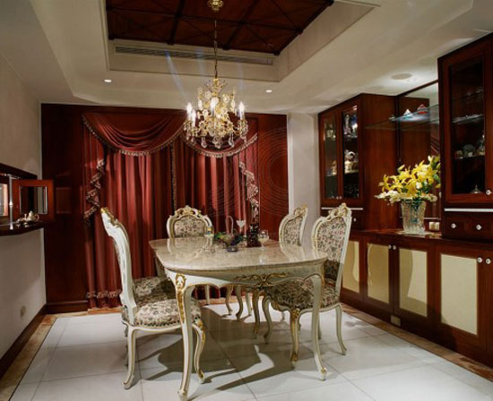 Dining room ideas tables chairs and decor 53 pictures for Interior design for hall and dining room