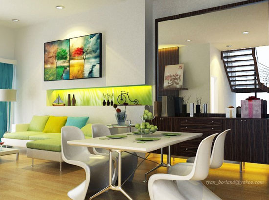 Diningroom3 Dining Room Ideas: Tables, Chairs And Decor (53 Pictures)