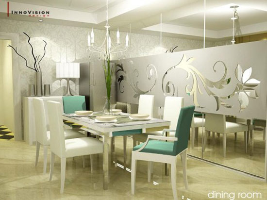 Astonishing Dining Room Interior Design 17