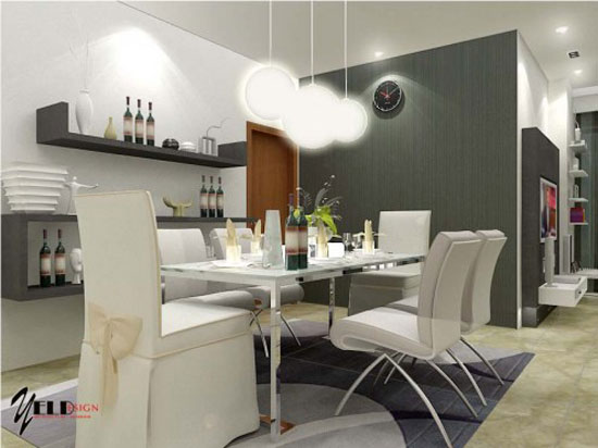 Astonishing Dining Room Interior Design 24