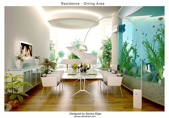 Astonishing Dining Room Interior Design 7