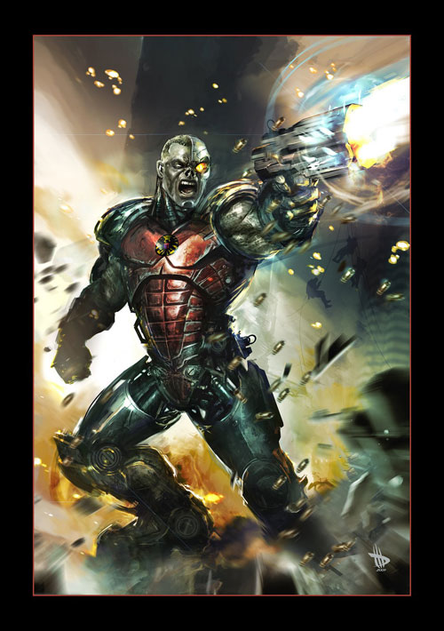 DEATHLOK Drawing Illustration