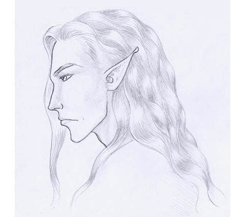 Drawing and Painting Hair tutorial