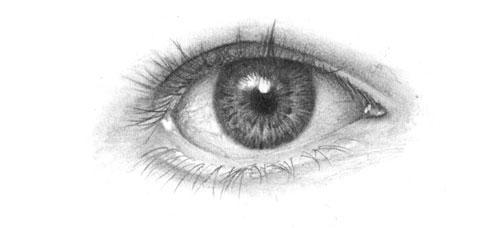 Drawing the Human Eye tutorial