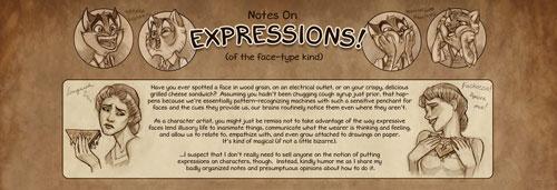 Lackadaisy Expressions tutorial