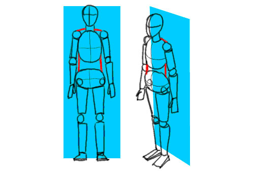 Figure drawing: Basic Pose and Construction tutorial