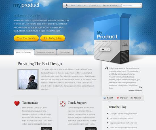 MyProduct eCommerce WordPress Theme