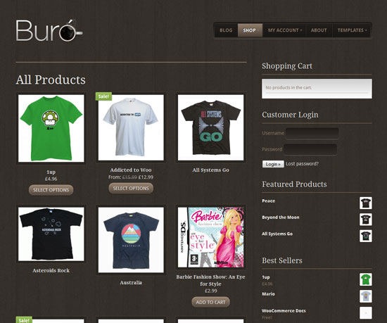 a comprehensive list of the best ecommerce wordpress themes