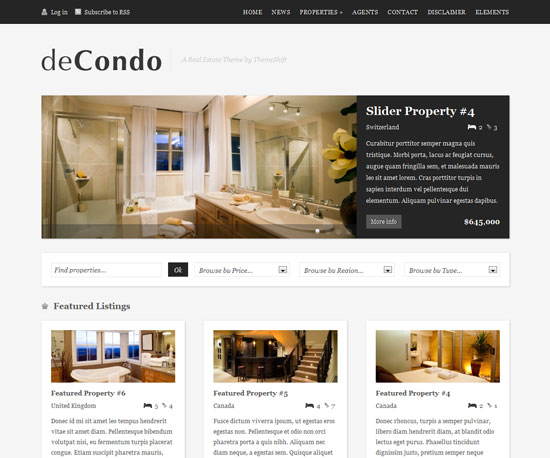 deCondo eCommerce WordPress Theme
