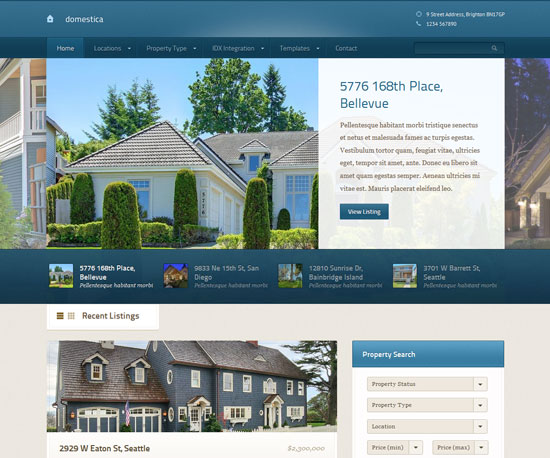 Domestica eCommerce WordPress Theme