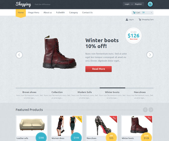 Shopping eCommerce WordPress Theme