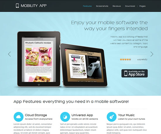 MobilityApp eCommerce WordPress Theme