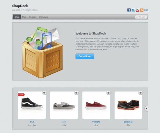 ShopDock eCommerce WordPress Theme