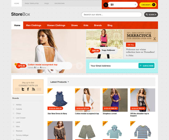 asdasda eCommerce WordPress Theme