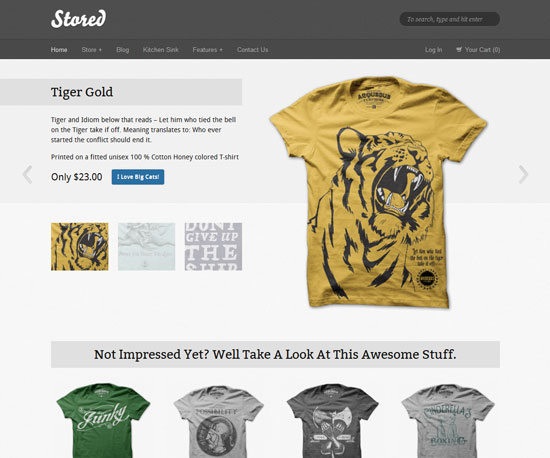 Stored eCommerce WordPress Theme