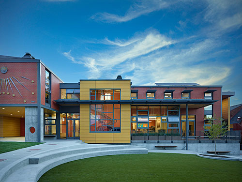 Educational buildings architecture inspiration 23 schools and universities - Maison davis miller hull partnership ...
