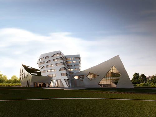 Luneburg University's Libeskind Building in Luneburg, Germany 2 - Educational Buildings Architecture Inspiration