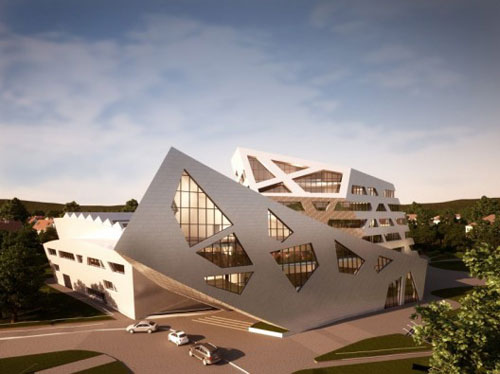 Luneburg University's Libeskind Building in Luneburg, Germany - Educational Buildings Architecture Inspiration