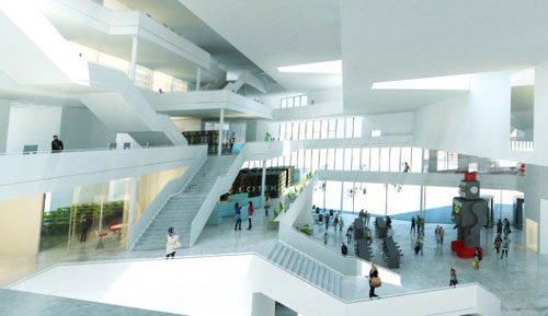 Sino-Danish Centre for Education and Research in Copenhagen, Denmark 3 - Educational Buildings Architecture Inspiration