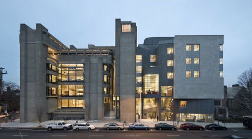 Yale Art and Architecture Building in Connecticut, USA - Educational Buildings Architecture Inspiration