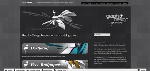 06_isaac zakar effective website designs with dark color schemes