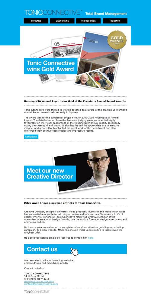HTML Emails design inspiration 19