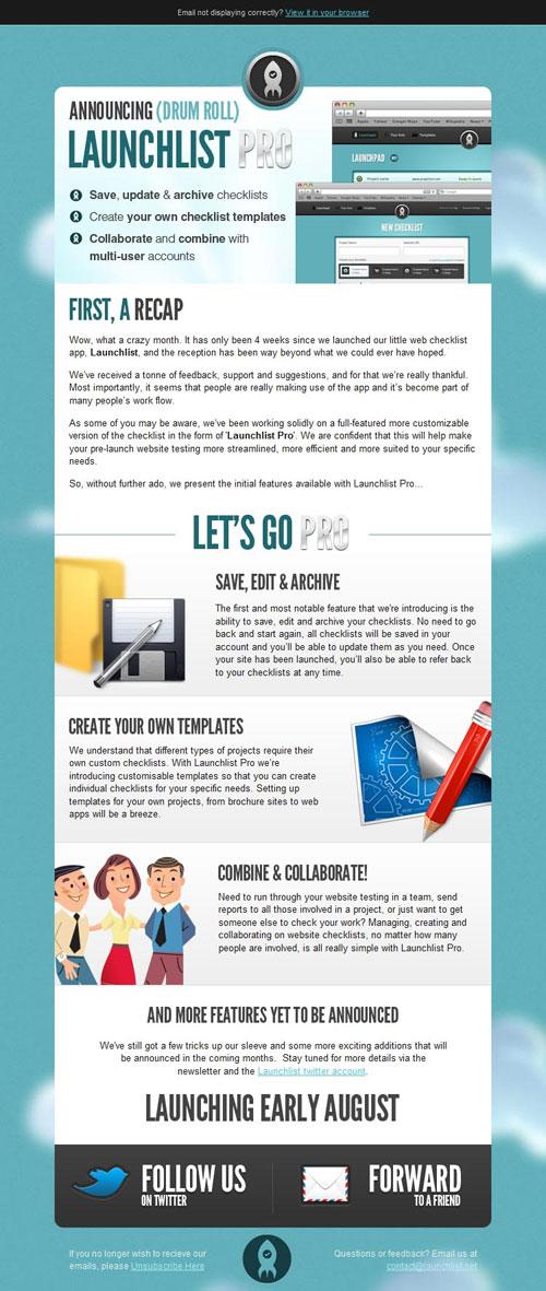 HTML Emails design inspiration 21