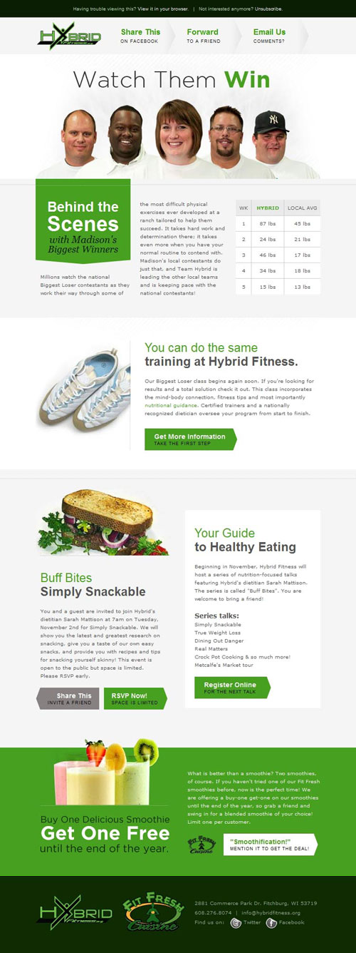HTML Emails design inspiration 5
