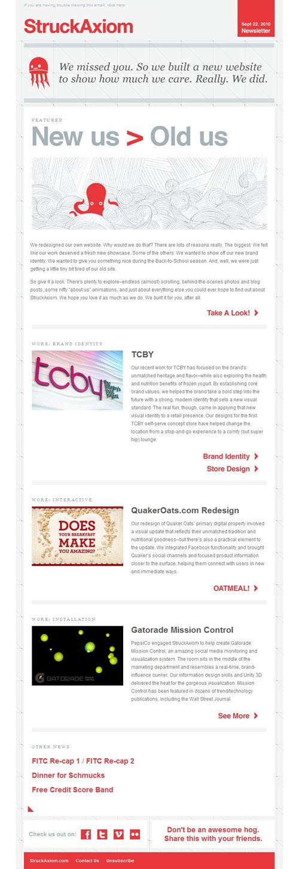 HTML Emails design inspiration 11