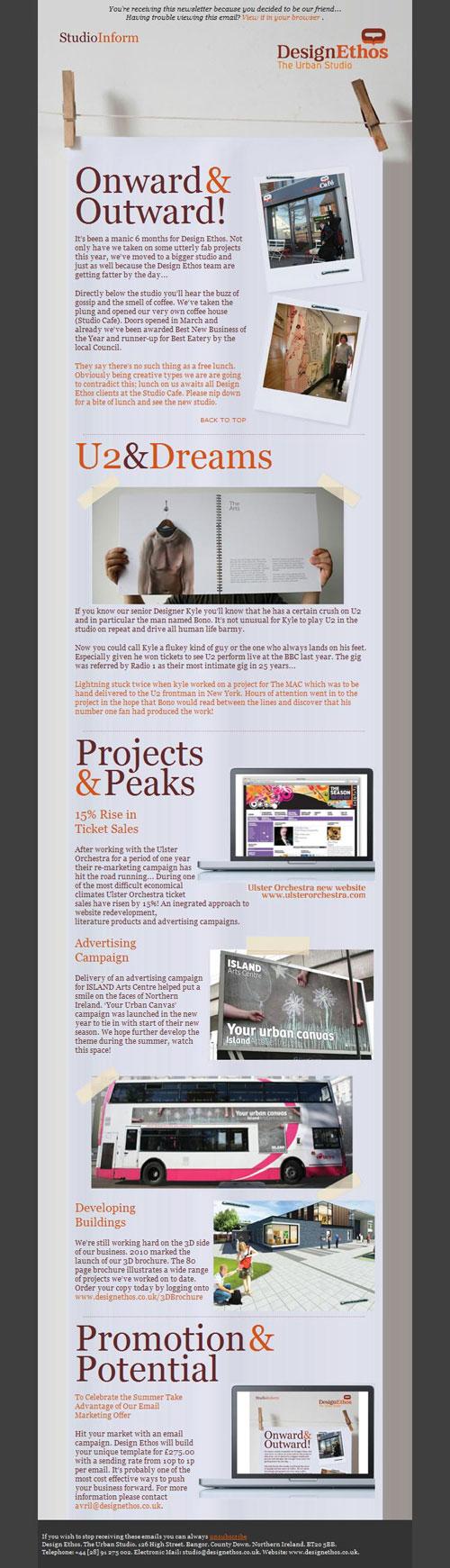 HTML Emails design inspiration 13