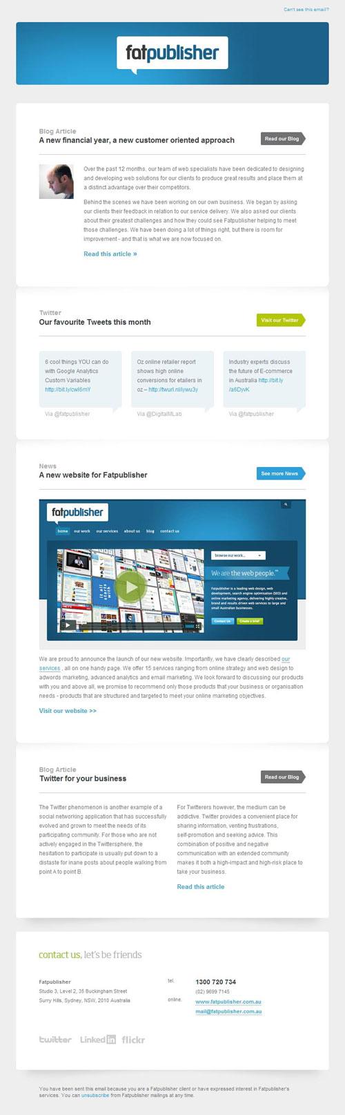 HTML Emails design inspiration 17