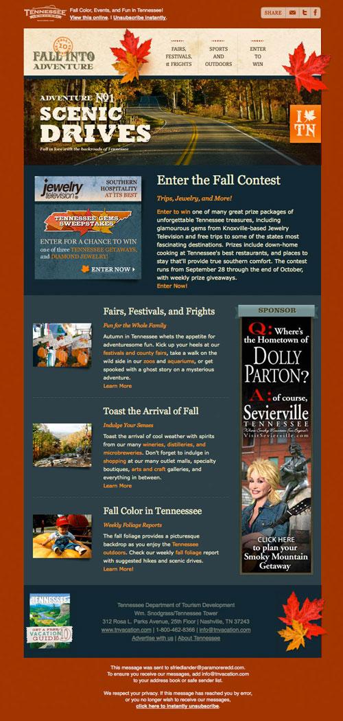 HTML Emails design inspiration 16