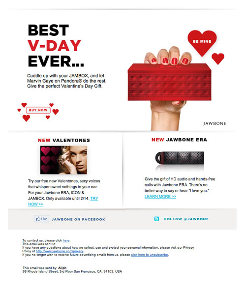 HTML Emails design inspiration 27