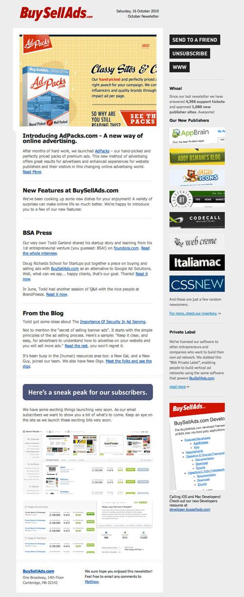 HTML Emails design inspiration 12