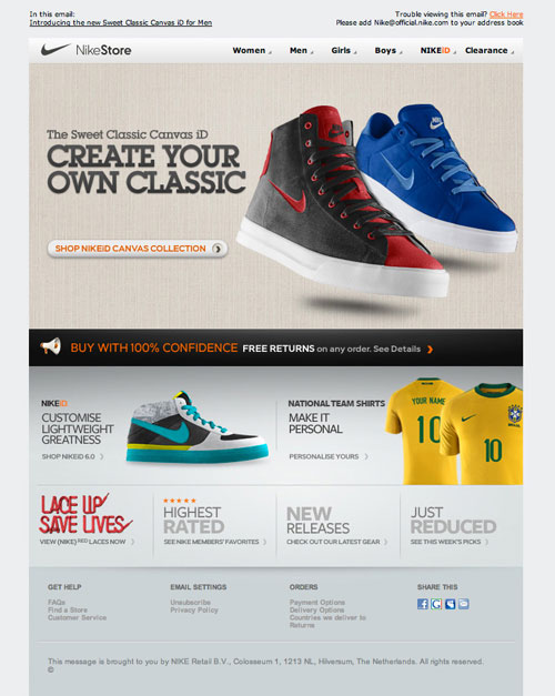 HTML Emails design inspiration 21