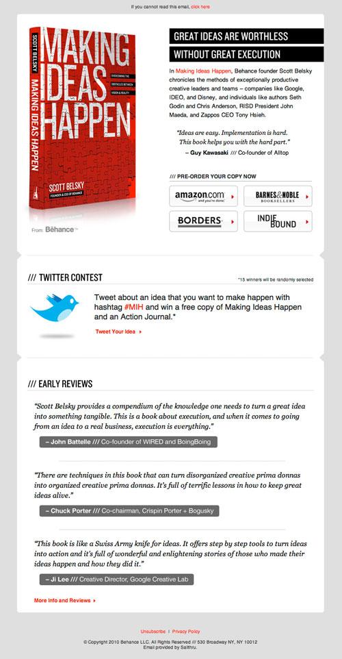 HTML Emails design inspiration 20