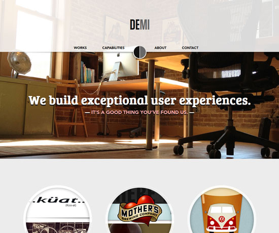 demicreative.com Website Design Inspiration