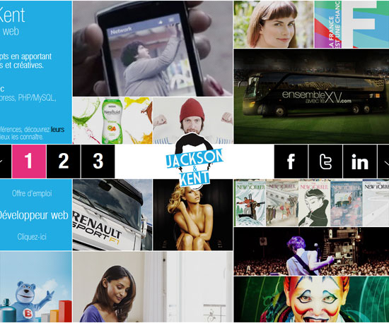 jandk.fr Website Design Inspiration