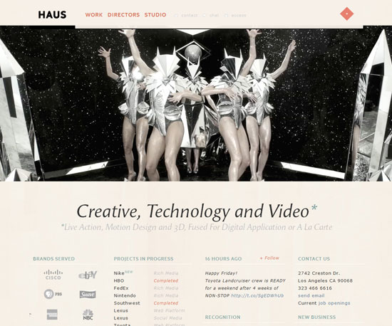 madeinhaus.com Website Design Inspiration