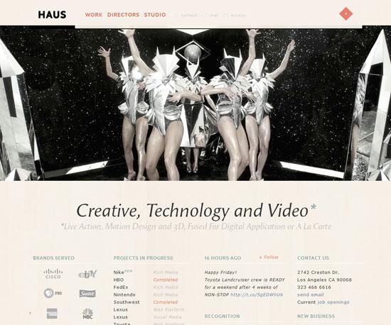 madeinhaus.com Website Design Inspiration