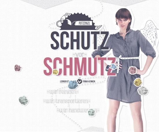 putzengel.at Website Design Inspiration