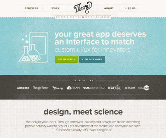 theorydesign.ca Website Design Inspiration