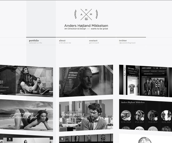 wantstobegreat.com Website Design Inspiration