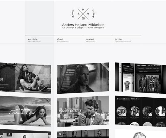 wantstobegreat.com Website Design Inspiration