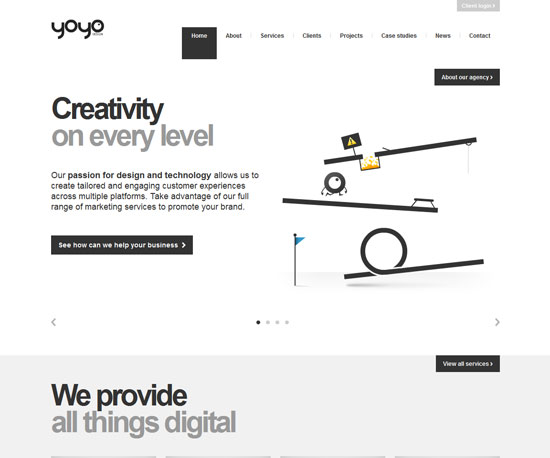 yoyodesign.com Website Design Inspiration